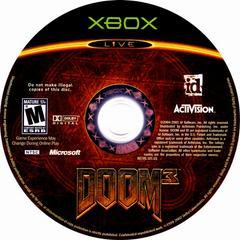 Disc   Doom 3 Xbox