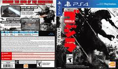 Cover Art | Godzilla Playstation 4