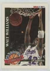 Walt Williams Basketball Cards 1992 Hoops Magic's All-Rookie Prices