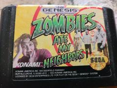 Cartridge (Front) | Zombies Ate My Neighbors Sega Genesis