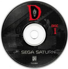 Game Disc 1 | D Sega Saturn
