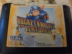 Cartridge (Front) | Rocket Knight Adventures Sega Genesis