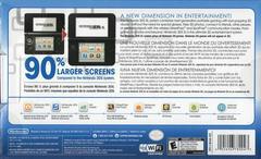 Back Cover | Nintendo 3DS XL Black & Blue Nintendo 3DS