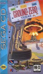 Ground Zero Texas - Front/Manual | Ground Zero Texas Sega CD