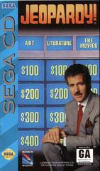 Jeopardy! - Front / Manual   Jeopardy Sega CD