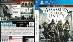 Artwork - Back, Front | Assassin's Creed: Unity [Limited Edition] Playstation 4