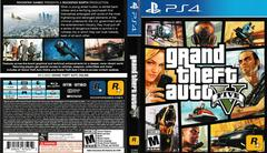 Artwork - Back, Front | Grand Theft Auto V Playstation 4