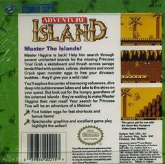 Adventure Island - Back | Adventure Island GameBoy