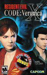 Manual - Front | Resident Evil Code Veronica X Playstation 2