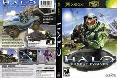 Front/Back Cover   Halo: Combat Evolved Xbox