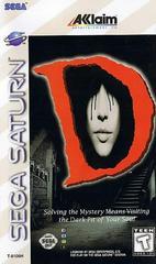 Manual - Front | D Sega Saturn
