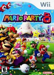 Front Cover | Mario Party 8 Wii