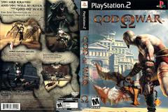 Slip Cover Scan By Canadian Brick Cafe | God of War Playstation 2