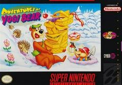 Adventures Of Yogi Bear - Front | Adventures of Yogi Bear Super Nintendo