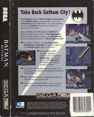 Batman Returns - Back | Batman Returns Sega CD