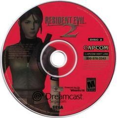 Disc 2 Claire | Resident Evil 2 Sega Dreamcast