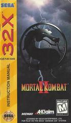 Mortal Kombat II - Manual | Mortal Kombat II Sega 32X