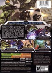 Back Cover | Halo 2 Xbox