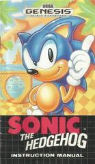 NTSC-U Manual | Sonic the Hedgehog Sega Genesis