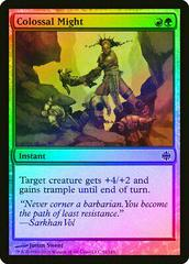 Colossal Might [Foil] Magic Alara Reborn Prices