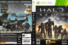 Slip Cover Scan By Canadian Brick Cafe   Halo: Reach Xbox 360