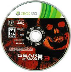 Game Disc | Gears of War 3 Xbox 360