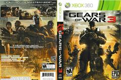 Artwork - Back, Front | Gears of War 3 Xbox 360