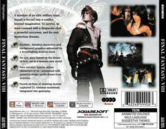 Back Of Case | Final Fantasy VIII Playstation