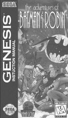 Adventures Of Batman And Robin - Manual | Adventures of Batman and Robin Sega Genesis
