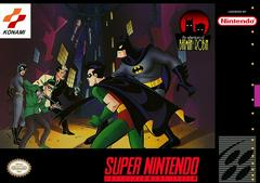 Adventures Of Batman And Robin - Front   Adventures of Batman and Robin Super Nintendo
