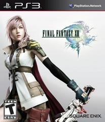 Front Cover | Final Fantasy XIII Playstation 3
