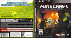 Slip Cover Scan By Canadian Brick Cafe   Minecraft Playstation 3