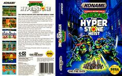 Full Cover   Teenage Mutant Ninja Turtles Hyperstone Heist Sega Genesis