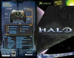 Instruction Manual Front/Back   Halo: Combat Evolved Xbox