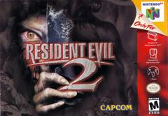 Front Cover | Resident Evil 2 Nintendo 64