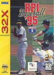 RBI Baseball 95 - Front | RBI Baseball 95 Sega 32X