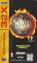 NBA Jam Tournament Edition - Manual | NBA Jam Tournament Edition Sega 32X