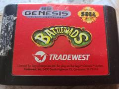 Cartridge (Front)   Battletoads Sega Genesis