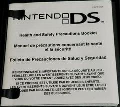 DS Insert | Resident Evil Deadly Silence Nintendo DS