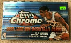Hobby Box Basketball Cards 1999 Topps Chrome Prices