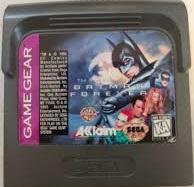 Batman Forever - Cartridge   Batman Forever Sega Game Gear