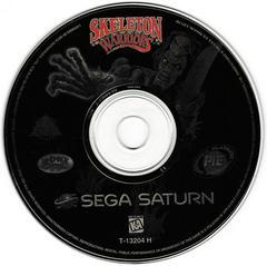 Game Disc | Skeleton Warriors Sega Saturn