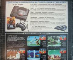 Back Cover | Sega Genesis Console Sega Genesis