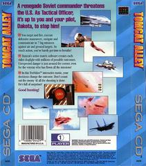 Tomcat Alley - Back | Tomcat Alley Sega CD