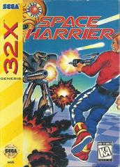 Space Harrier - Front | Space Harrier Sega 32X