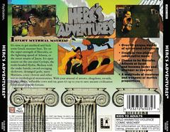 Back Of Case | Herc's Adventures Playstation
