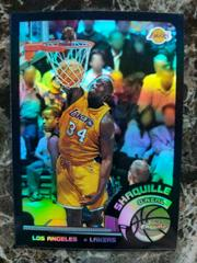 Shaquille O'Neal [Black Refractor] Basketball Cards 2002 Topps Chrome Prices