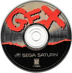 Game Disc | Gex Sega Saturn
