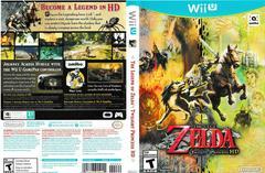 Artwork - Back, Front | Zelda Twilight Princess HD [amiibo Bundle] Wii U