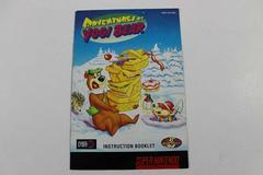 Adventures Of Yogi Bear - Manual | Adventures of Yogi Bear Super Nintendo
